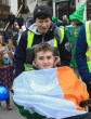 Michael and Ian out and about in Killarney for a St Patrick's Day celebration