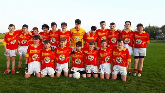 Killenaule U14 Footballers