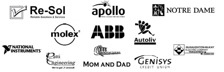 2014 Silver Sponsors