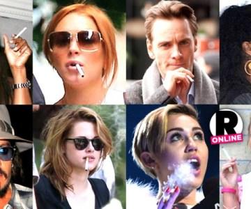 Celebrities Who Smoke!