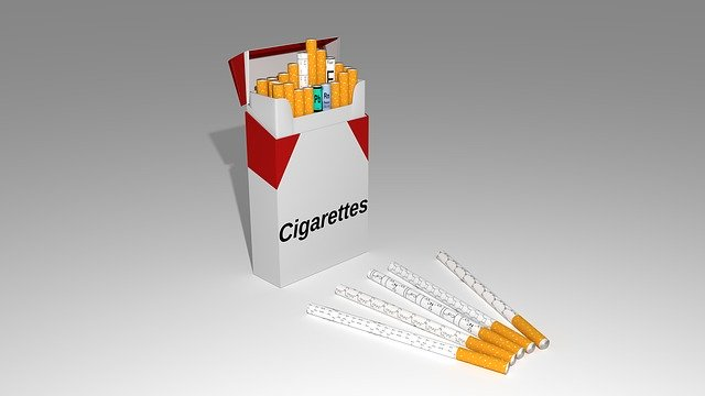 business cigaratte box
