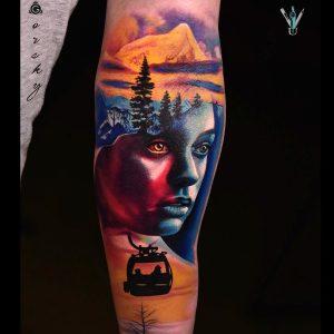 Damian Gorski Ushuaia Tattoo London Máquinas De Tatuaje