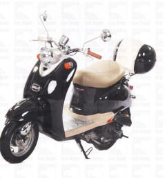 icebear 50cc 5 automatic scooter silver icebear 50cc 5 automatic scooter black  [ 1200 x 900 Pixel ]