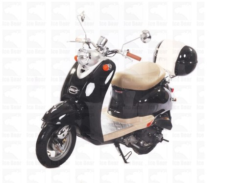 small resolution of icebear 50cc 5 automatic scooter silver icebear 50cc 5 automatic scooter black