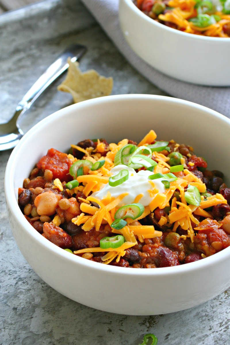Vegetarian Slowcooker Chili 2