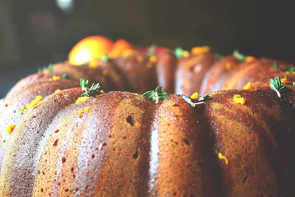 Blood Orange Bundt Cake Recipe