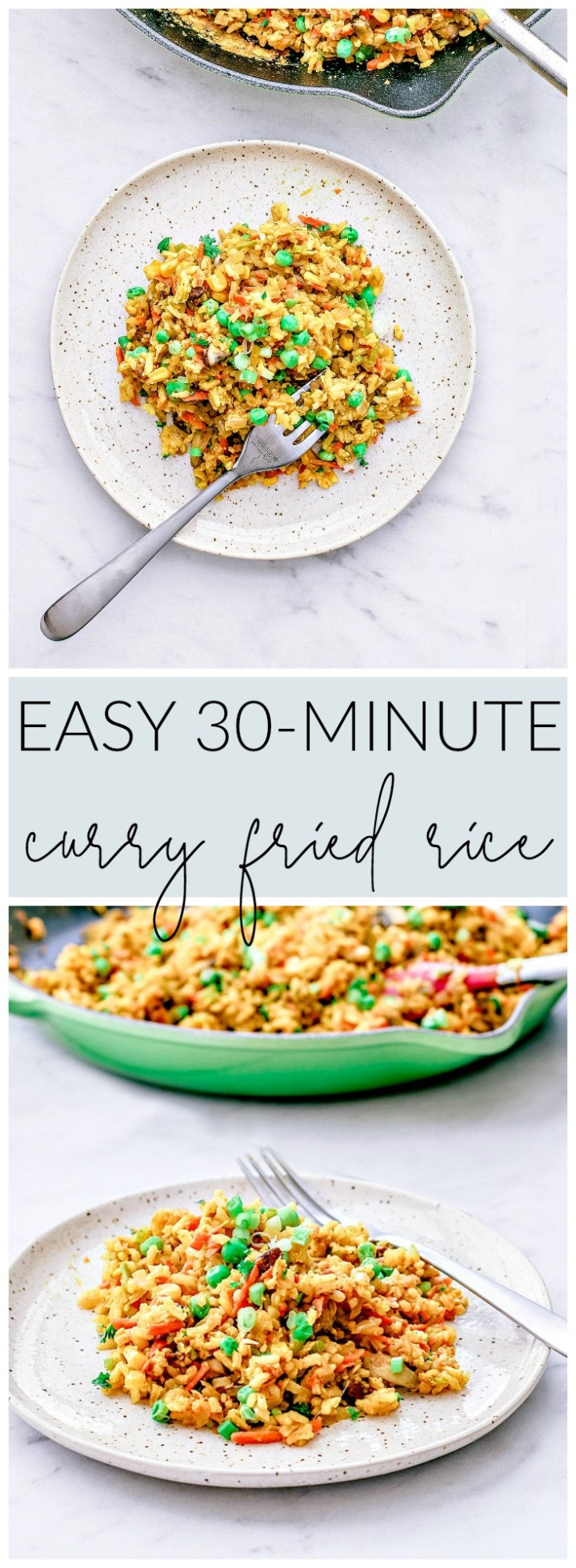 Easy Curry Fried Rice | Killing Thyme