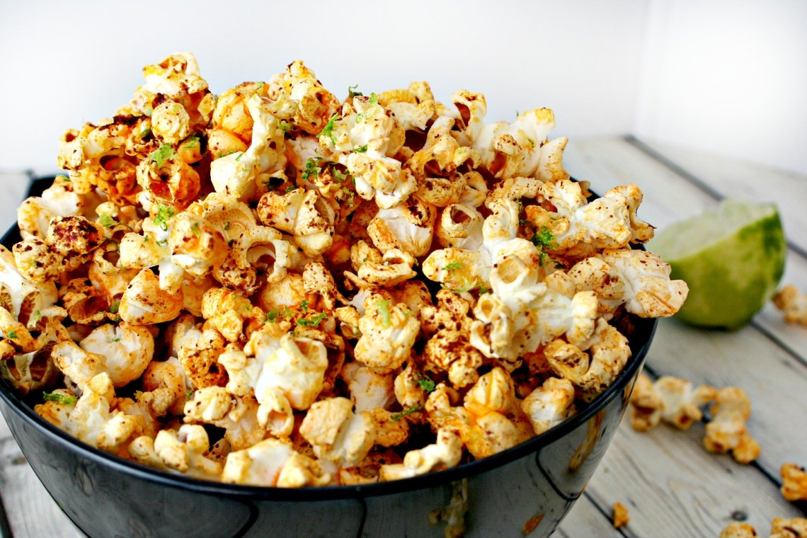 Chili and Lime Popcorn 3