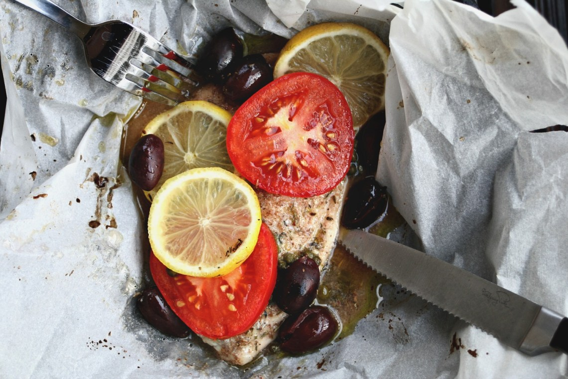 Fish Steamed in Parchment