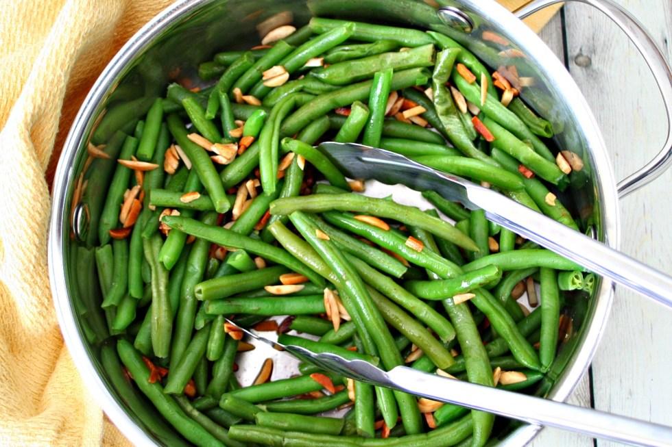 Green Beans Almondine 4