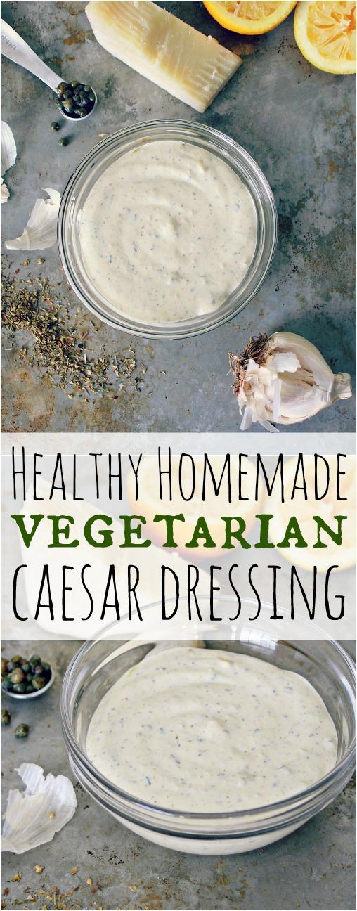 Healthy Homemade Caesar Dressing Pinterest