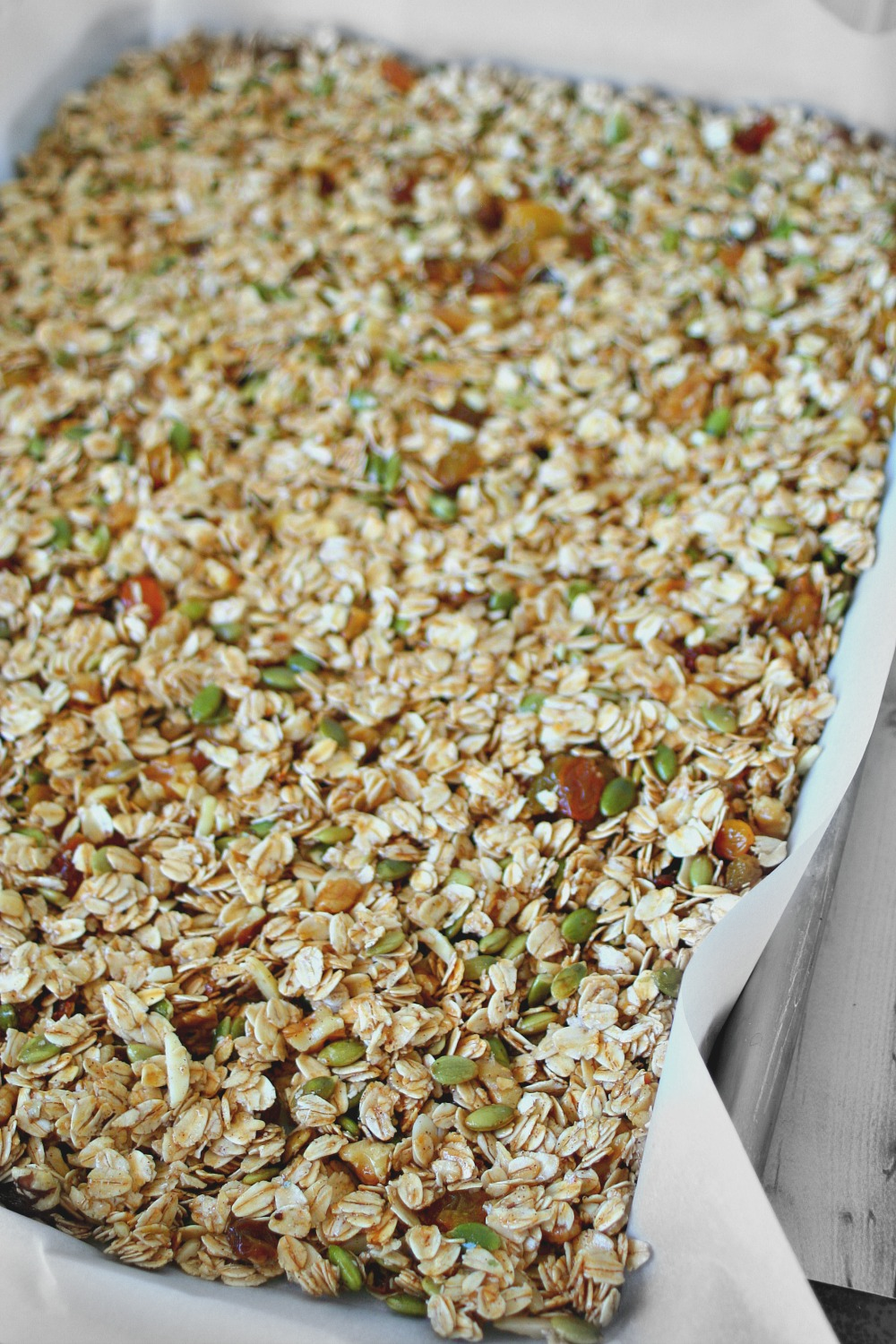 Homemade Granola Tray 2