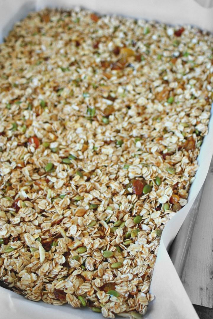 Homemade Granola Tray 2