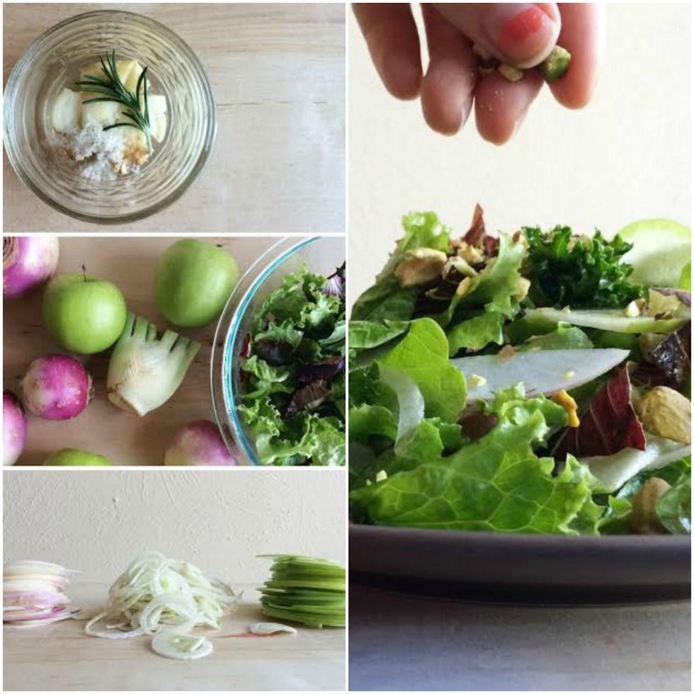 Turnip Salad Collage 2