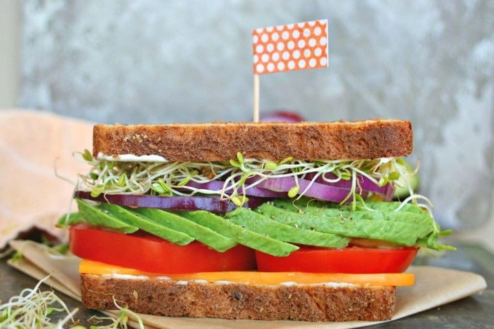 Gourmet Veggie Sandwich 5
