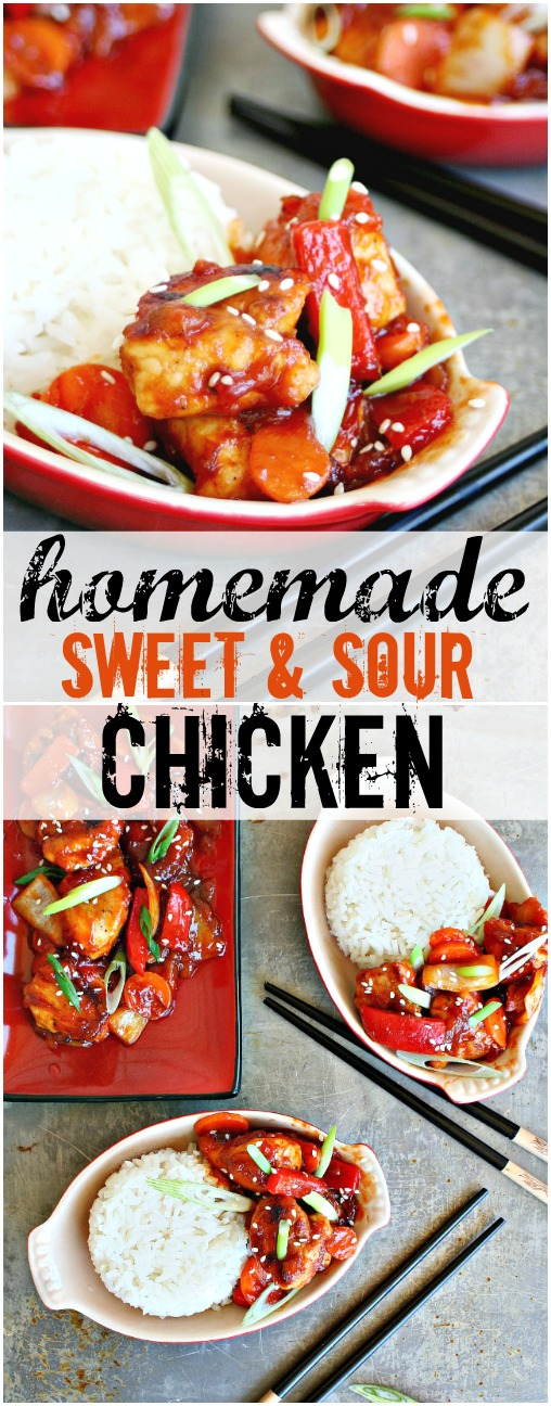 Homemade Sweet and Sour Chicken Pinterest