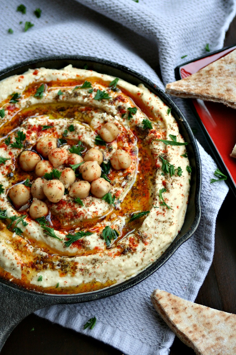 Hummus with Za'atar and Sweet Paprika 3