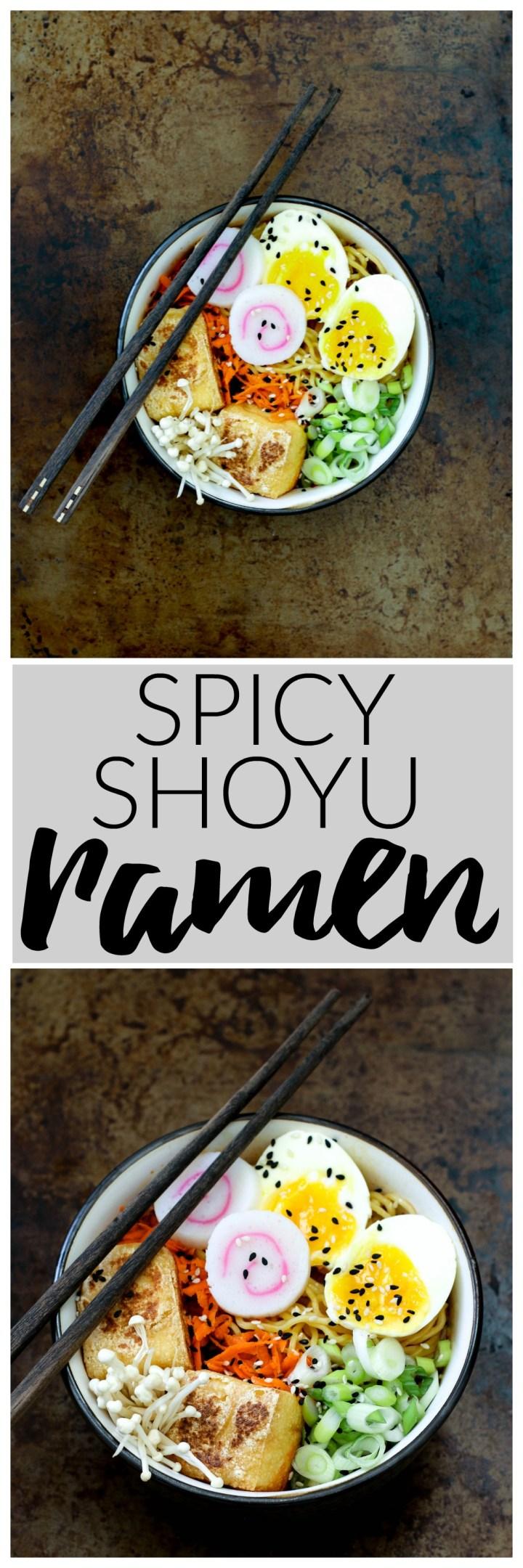 Spicy Shoyu Ramen   Killing Thyme