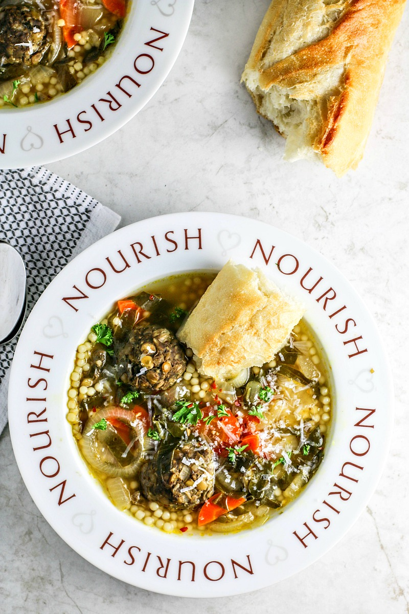 Italian wedding soup killing thyme vegetarian italian wedding soup forumfinder Image collections