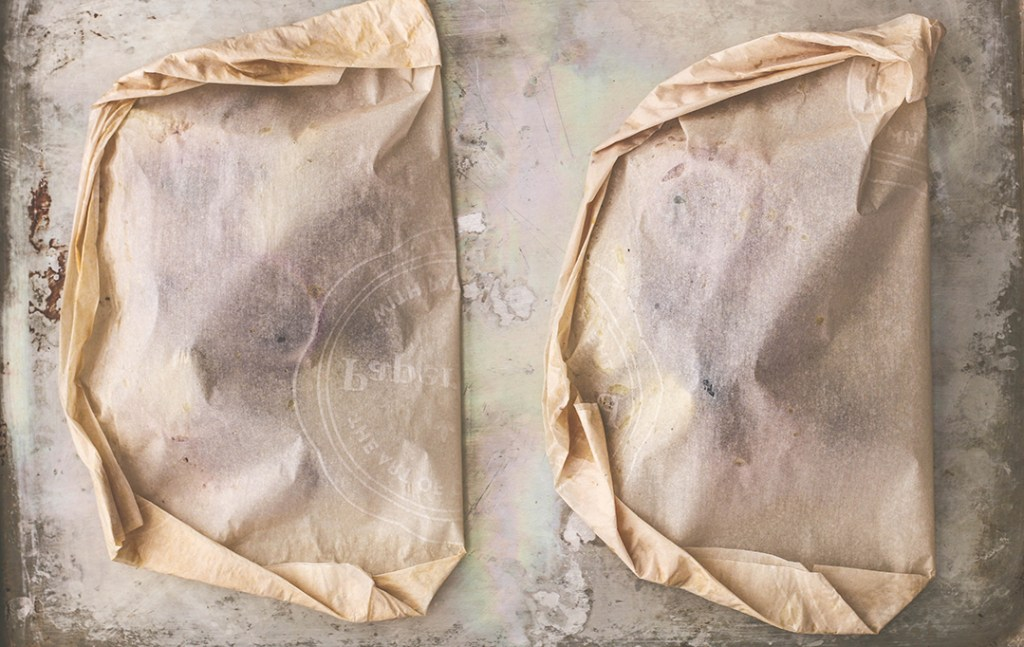 Mediterranean Cod en Papillote {Cod Steamed in Parchment} | Killing Thyme