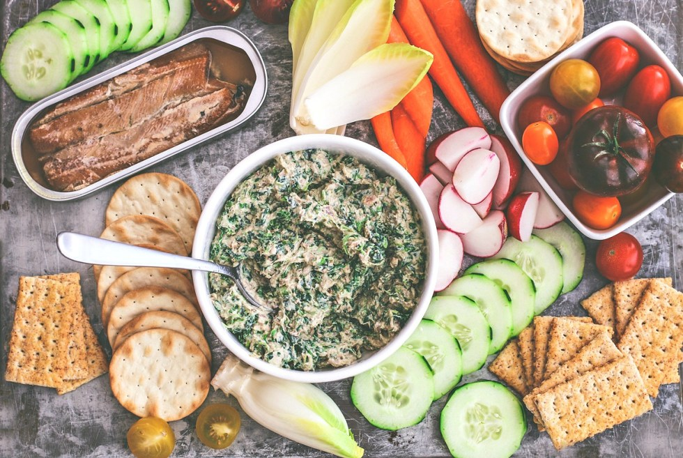 Smoked Fish Dip With Spinach | Killing Thyme