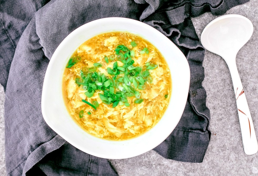 Easy Egg Drop Soup | Killing Thyme