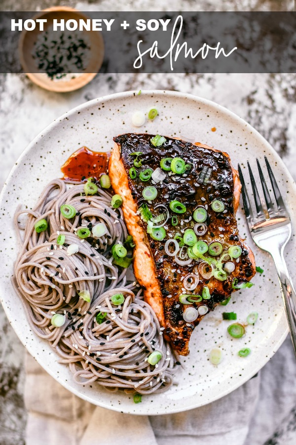 Hot Honey and Soy Salmon
