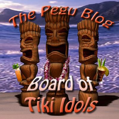 Pegu Blog Board of Tiki Idols