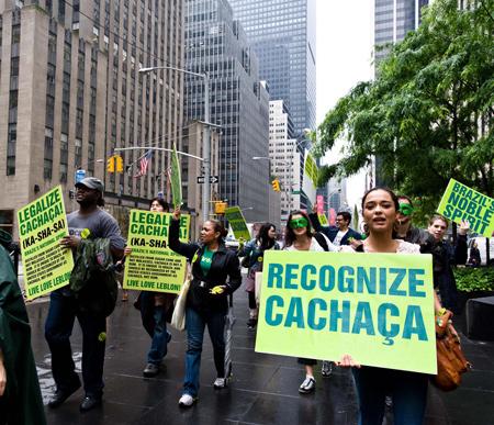 New York Leblon Demonstration