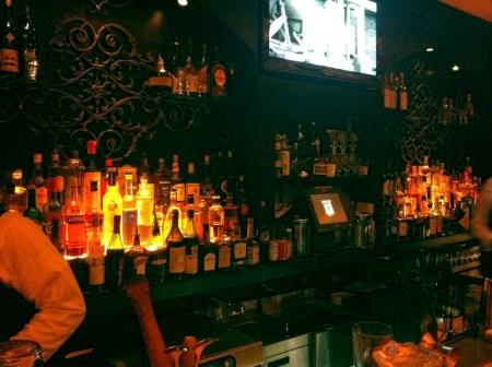 Prohibition speakeasy bar in Atlanta