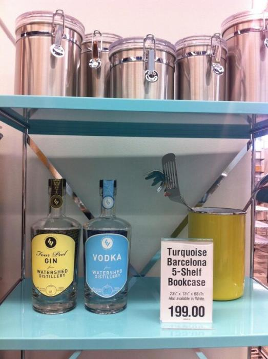 Watershed merchandising at the Container Store