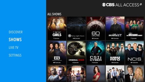 What is CBS All Access