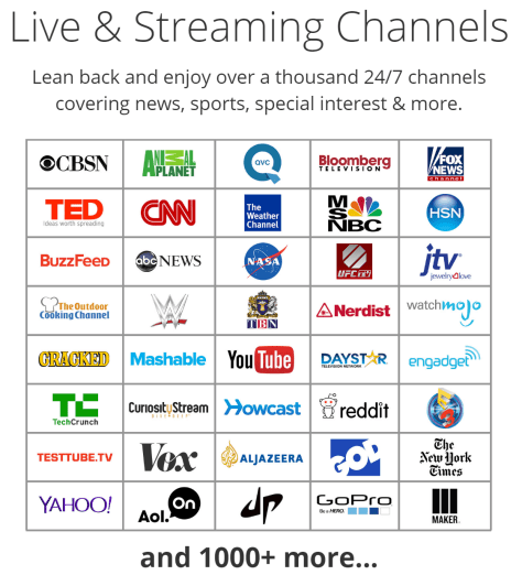 Live Streaming Channels SelectTV