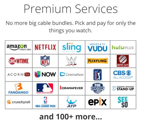 Premium Services SelectTV