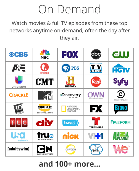 SelectTV On-demand