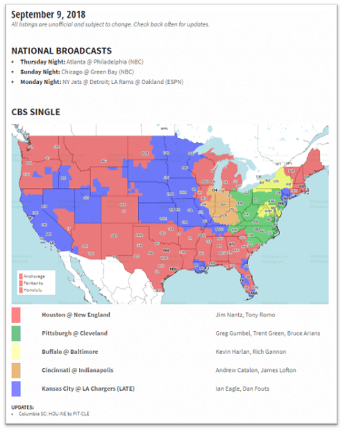 how to watch monday night football without cable