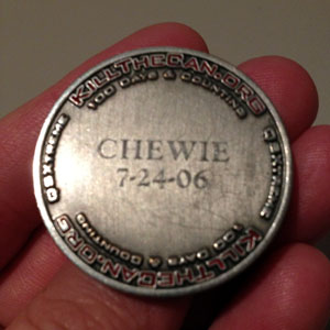 Chewie's Silver HOF Coin