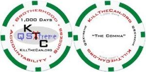 1,000 Day Milestone Chip