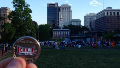 Photo of Independence Hall For the Opening Tap of Philly Beer Week