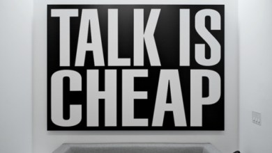 Photo of Talk is Cheap