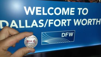 Photo of Matthew And His Hall Of Fame Coin Visit Dallas / Forth Worth