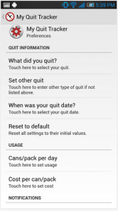 My Quit Tracker Android Apps on Google Play 2