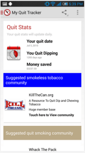 My Quit Tracker Android Apps on Google Play