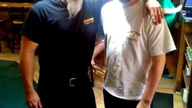Photo of Big Brother Jack and Sporticus at the Union Brewhouse