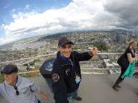 Martin At The Space Needle