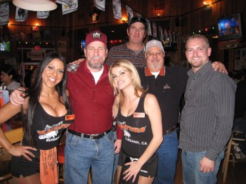 The Boys & The Hooters!!!