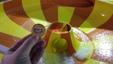 Photo of Sox2012 & His HOF Coin Beating The Heat At KeyLime Cove