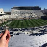 Luby Checks Out Beaver Stadium At Penn State