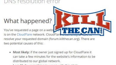 Photo of What's Going On With The KillTheCan.org Forums?