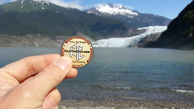Photo of Rocketman Visits The Mendenhall Glacier In Alaska